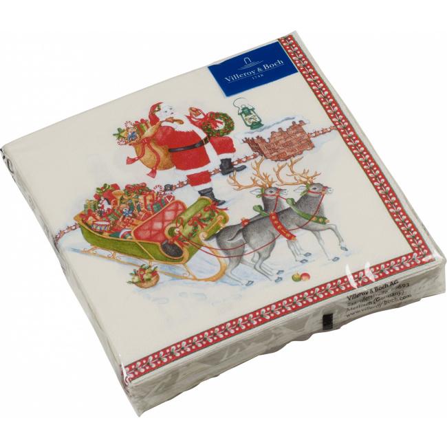 Serwetki papierowe Winter Specials 33cm mikołaj
