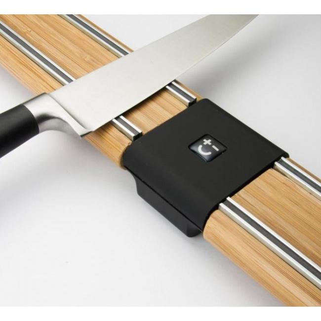 Listwa magnetyczna 45cm bambusowa dwuczęściowa