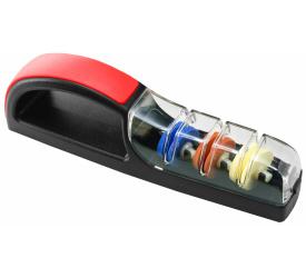 Ceramiczna ostrzałka wodna MinoSharp Plus 3 550 czarno-czerwona