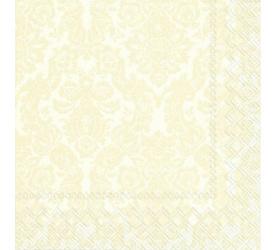 Serwetki papierowe 33cm kremowe