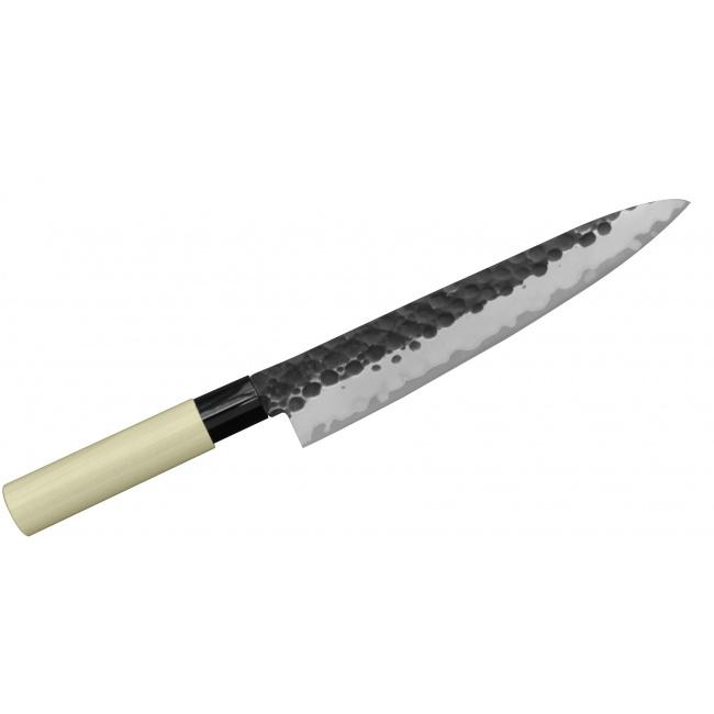 Nóż Tojiro Zen Hammered 24cm Szefa kuchni