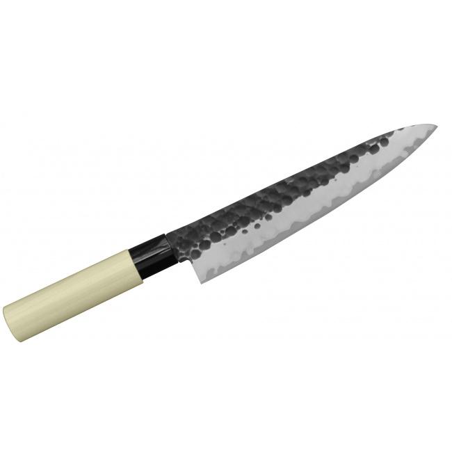 Nóż Tojiro Zen Hammered 21cm Szefa kuchni
