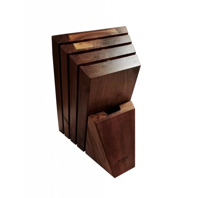 Blok do noży Tojiro orzechowy