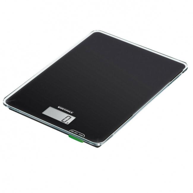 Elektroniczna waga kuchenna 19x14 czarna