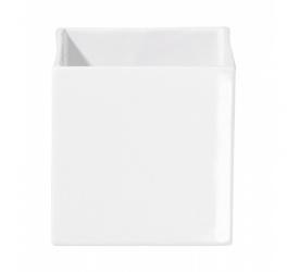 Osłonka Quadro 15cm biała