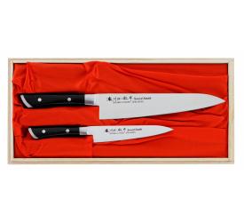 Komplet 2 noży Satake Hiroki uniwersalny + szefa kuchni