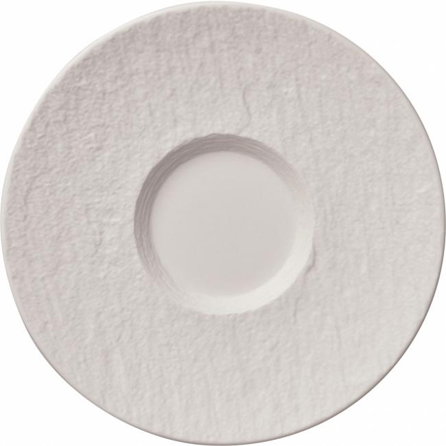 Spodek Manufacture Rock blanc 17cm do filiżanki śniadaniowej