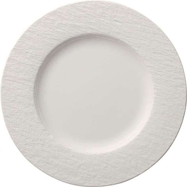 Talerz Manufacture Rock blanc 27cm obiadowy