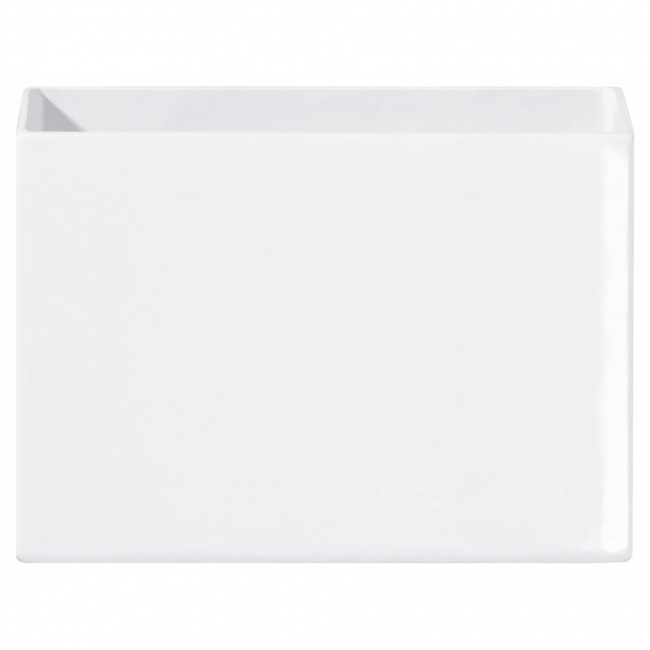 Osłonka Quadro 23x8x16cm biała