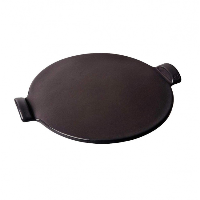 Kamień 36,5cm do pizzy czarny