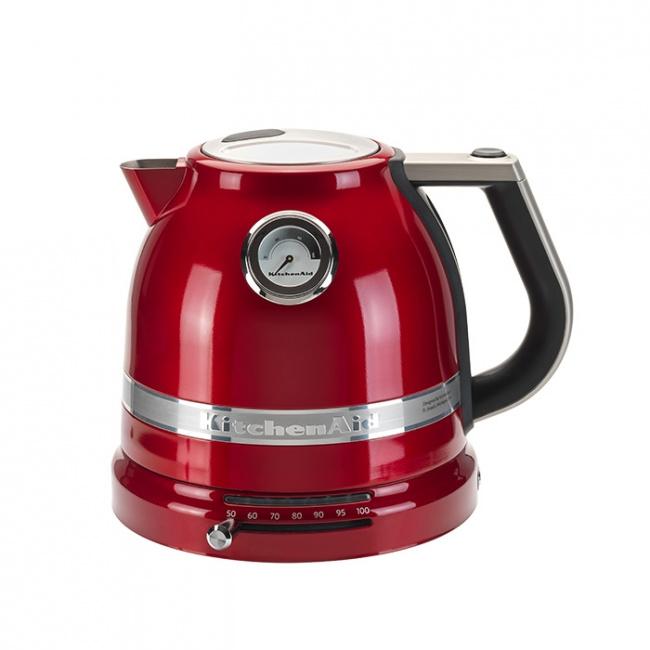 Czajnik elektryczny Artisan 1,5l czerwony karmelek