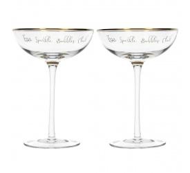 Komplet 2 kieliszków Ava & I 250ml do szampana