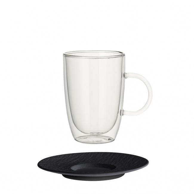 Filiżanka ze spodkiem Artesano Hot Beverages 390ml do kawy/herbaty