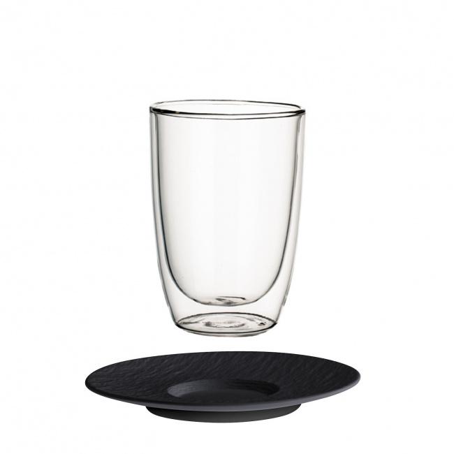 Szklanka ze spodkiem Artesano Hot Beverages 390ml do kawy/herbaty