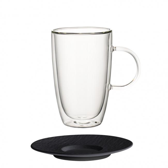 Filiżanka ze spodkiem Artesano Hot Beverages 450ml do kawy/herbaty