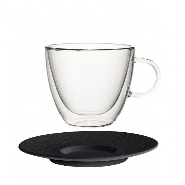 Filiżanka ze spodkiem Artesano Hot Beverages 420ml do kawy/herbaty