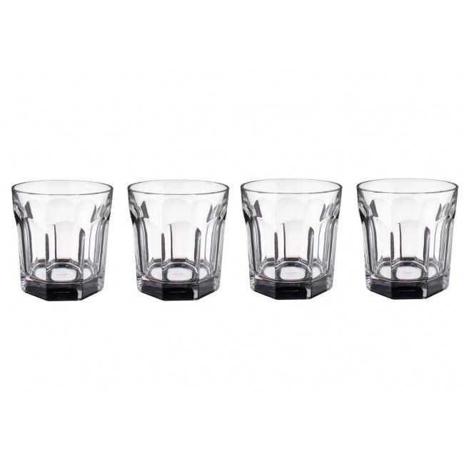 Zestaw 4 szklanek Bernadotte 320ml do whisky