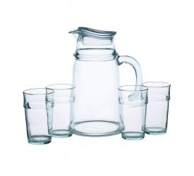 Dzbanek + 4 szklanki We love summer