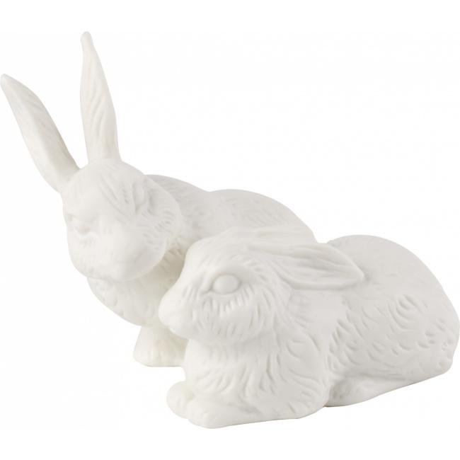 Figurka Easter Bunnies parka zajączków 13x10cm