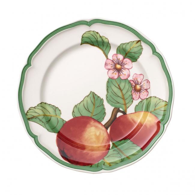 Talerz French Garden Modern Fruits Apple 21cm śniadaniowy