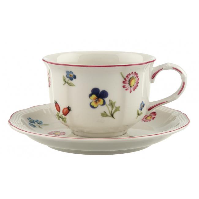Filiżanka ze spodkiem Petite Fleur 200ml do herbaty