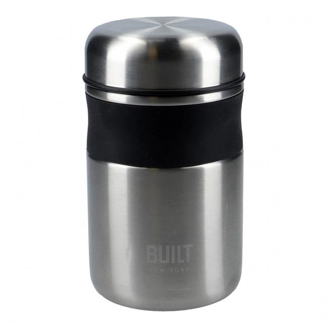 Pojemnik 490ml na żywność silver