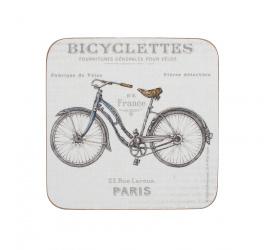 Komplet 6 podkładek Bicycle 10x10cm