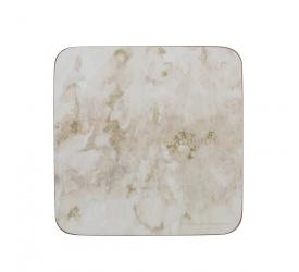 Komplet 6 podkładek Grey Marble 10x10cm