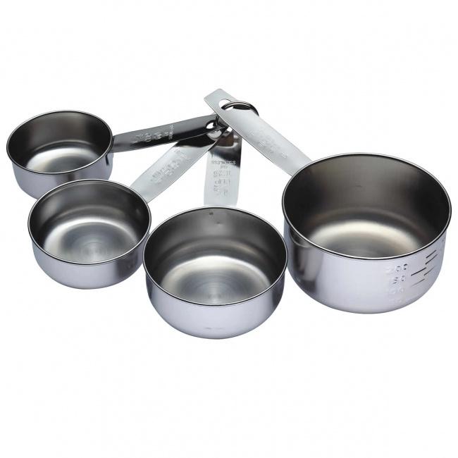 Komplet 4 miarek kuchennych