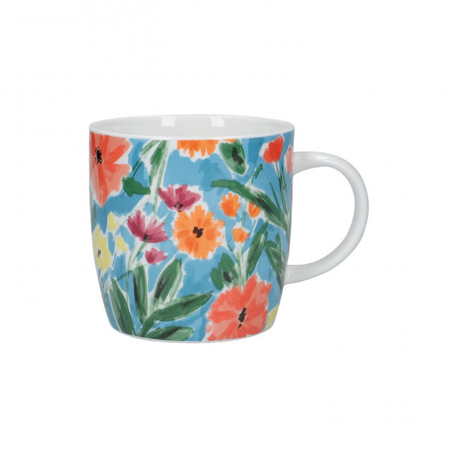 Kubek Abstract Flowers 425ml