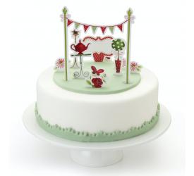 Zestaw do dekoracji tortu