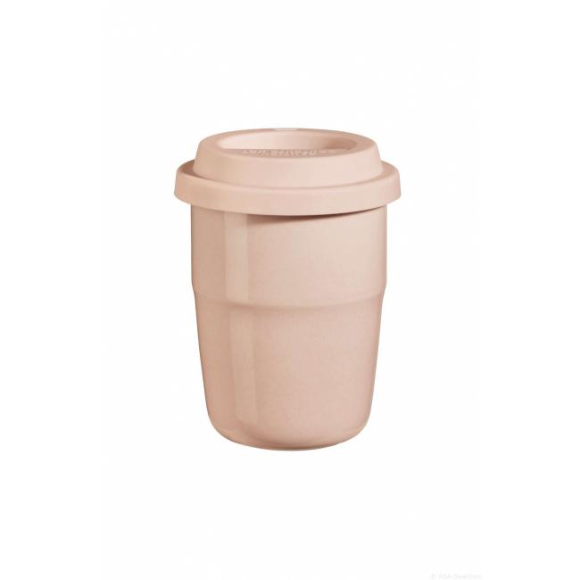 Kubek termiczny cup&go 200ml różowy