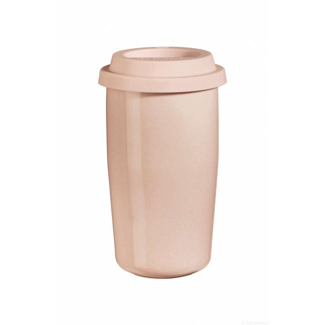 Kubek termiczny cup&go 350ml różowy