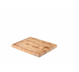 Deska z drewna kauczukowego 37x29x2,7cm