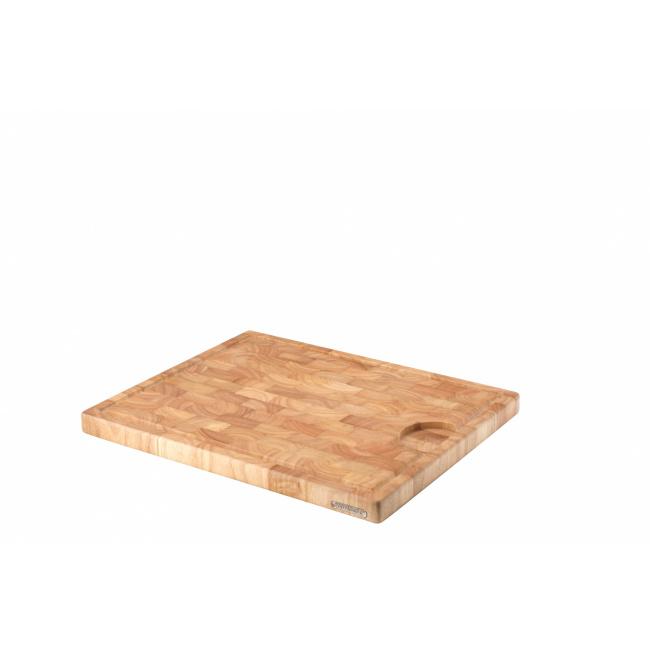 Deska z drewna kauczukowego 42x34x2,7cm