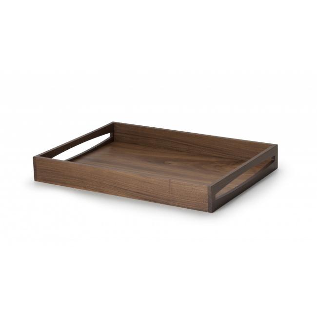 Taca z drewna orzechowego 49x35x6cm