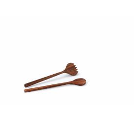 Komplet sałatkowy z drewna akacjowego 36cm