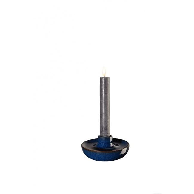 Świecznik Saisons Midnight Blue 11x5,5cm