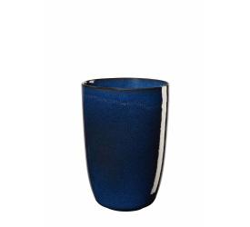 Wazon Saisons 16x11,6cm niebieski