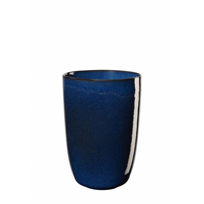 Wazon Saisons Midnight Blue 16x11,6cm niebieski