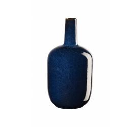 Wazon Saisons 17,4x8cm niebieski