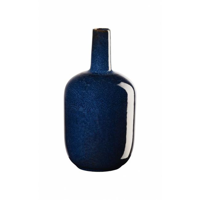 Wazon Saisons Midnight Blue 17,4x8cm niebieski
