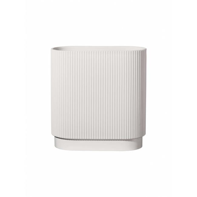 Wazon Artdeco 40x34,5x16cm biały
