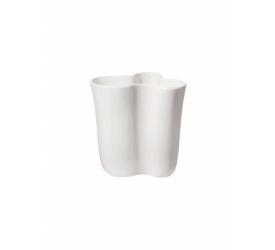 Wazon 21,5x16,5cm biały