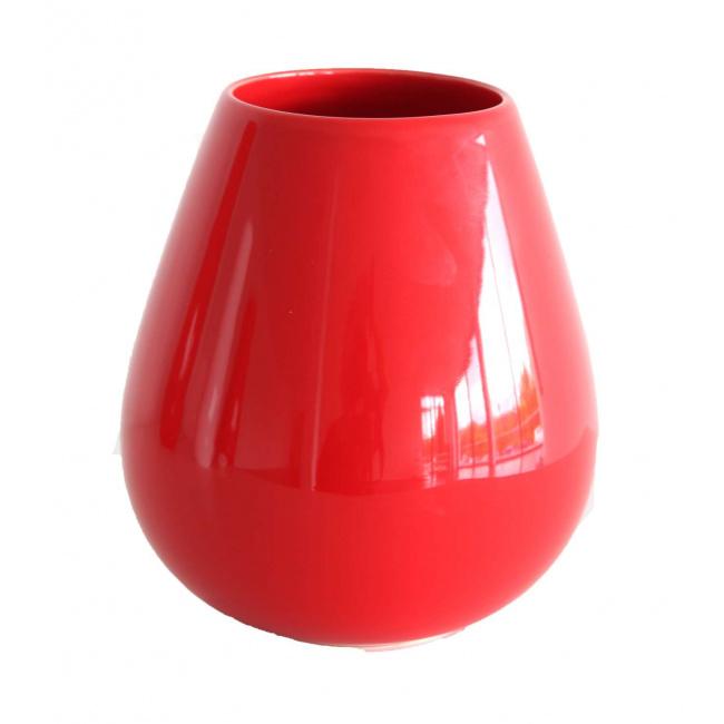 Wazon Ease 18x9cm czerwony