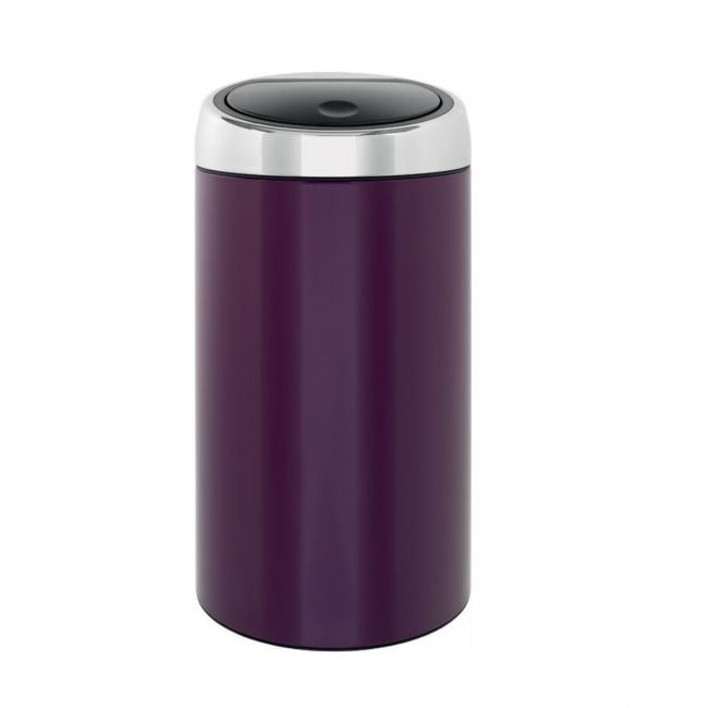 Kosz na odpady Touch Bin 45l fioletowy