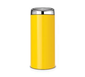 Kosz na odpady Touch Bin 30L żółty