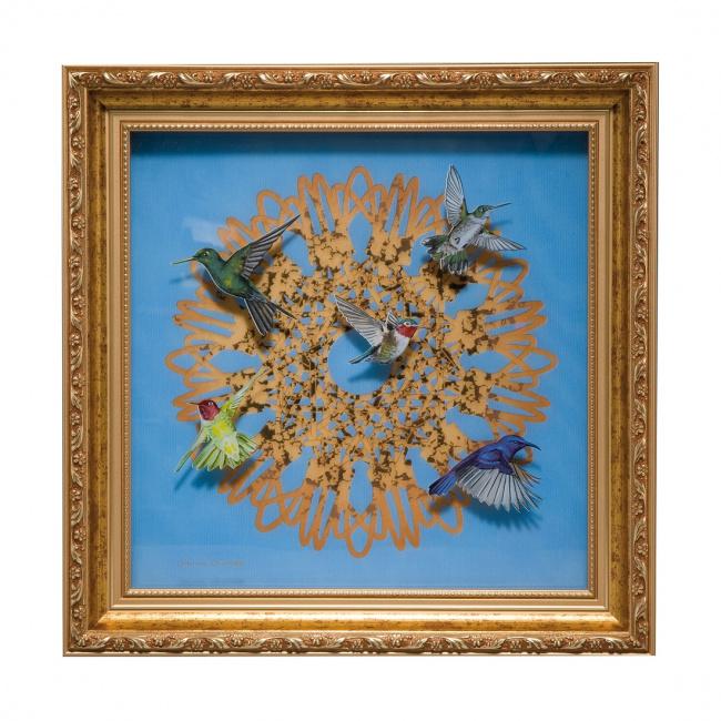 Obraz Kolibry 35x35cm