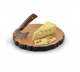 Deska Fred z nożem do sera