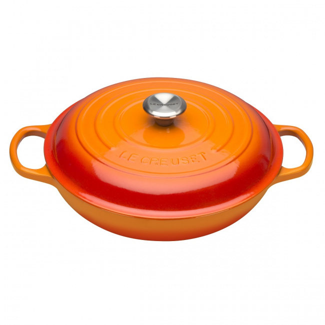 Garnek Gourmet 30cm 3,5l płomienny